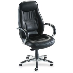 Lorell Ridgemoor Executive High-Back Swivel Chair