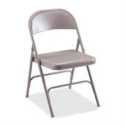Lorell Steel Folding Chair