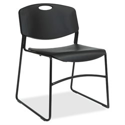 Lorell Big and Tall Stacking Chair (Set of 4)