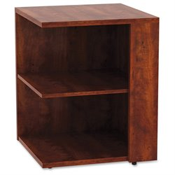 Lorell 2 Shelf Corner Bookcase (2)