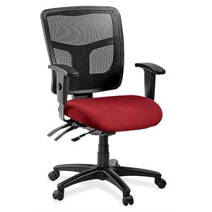 Lorell 86000 Series Managerial Mid Back Office Chair