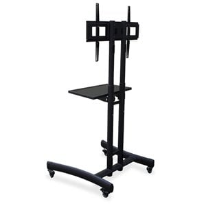 Lorell TV Cart in Black