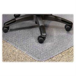 Lorell PlushMat Chair Mat