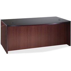 Lorell 87800 D-Shaped Bowfront Desk