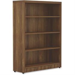 Lorell Chateau Srs Walnut Laminate Bookshelf