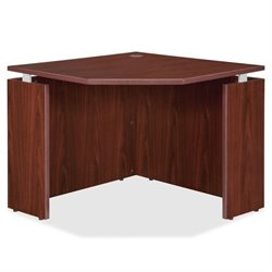 Lorell Ascent Series Mahogany Laminate Furniture
