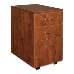 Lorell Essentials 3 Drawer Mobile Filing Cabinet