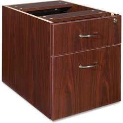 Lorell Essentials 2 Drawer Laminate Filling Cabinet