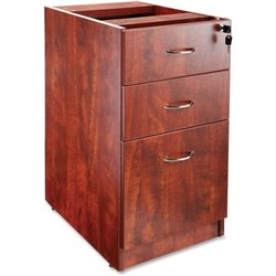 Lorell Essentials 3 Drawer Laminate Filling Cabinet (2)