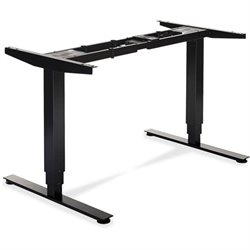 Lorell Height Adj. Sit-Stand Wkstation Desk Frame