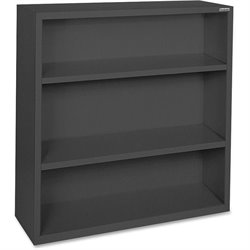 Lorell Fortress Series Black Steel Bookcases