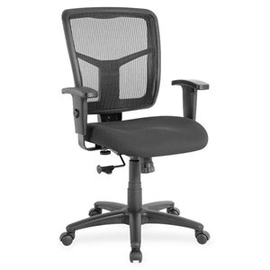 Lorell Managerial Mesh Mid Back Office Chair
