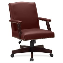Lorell Traditional Executive Bonded Leather Chairs