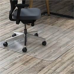 Lorell Hard Floor Rctnglr Polycarbonate Chairmat