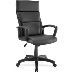 Lorell Euro Design Lthr Executive High-back Chair