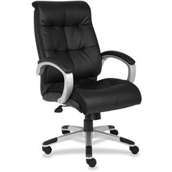 Lorell Classic Executive Leather Swivel Chair
