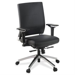 Lorell Full Function Leather Executive Swivel Chair