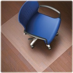 Lorell Nonstudded Hard Floor Wide Lip Chairmat