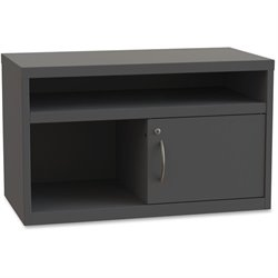 Lorell Sliding Door Lateral Credenza