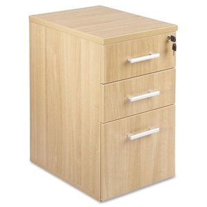 Lorell Laminate Underdesk Locking Pedestal