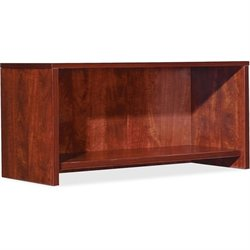 Lorell Essential Series Cherry Wall Mount Hutch