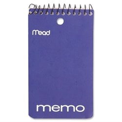 MeadWestvaco Coil Memo Notebook