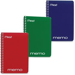 MeadWestvaco Open Side Memo Notebook