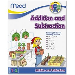Mead Grades 1-2 Addtn/Subtractn Math Skills Workbk