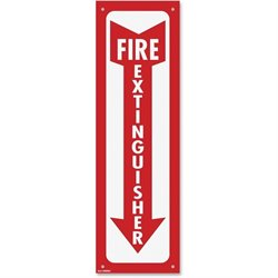 Cosco Fire Extinguisher Sign