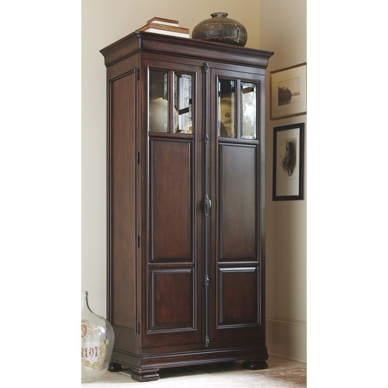 Tall Cabinet In Rustic Cherry Img