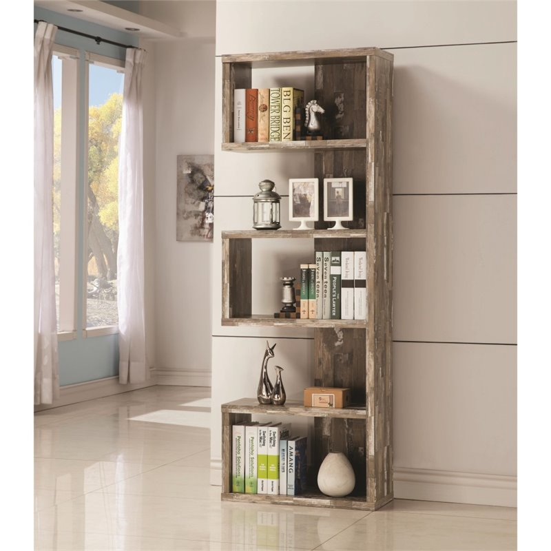 black stand bookcase dp kitchen backless com dining modern iohomes amazon display bookshelf